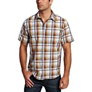 prAna Men's Duke Short Sleeve Woven
