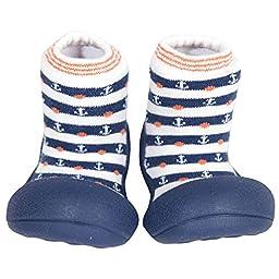 Attipas Big Toe Box Toddler Shoe *MARINE* Navy Small