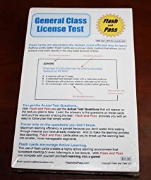 General Class Licence Test Flash Card Set