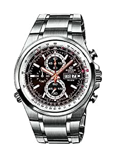 Casio Edifice Herren-Armbanduhr Chronographen Analog Quarz EFR-506D-5AVEF