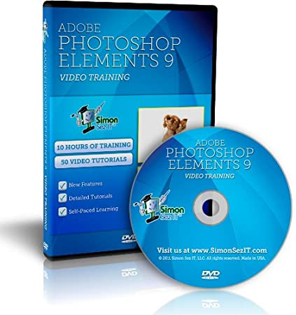 Learn Adobe Photoshop Elements 9 - 10 Hours of Video Training Tutorials