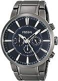 Fossil Men's FS4358 Gunmetal-Tone Stainless Steel Bracelet Watch