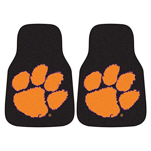 FANMATS NCAA Clemson University Tigers Nylon Face Carpet Car Mat (Clemson Truck Accessories compare prices)
