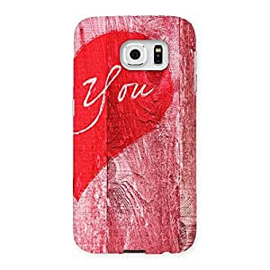 Pink You Back Case Cover for Samsung Galaxy S6