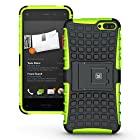 KAYSCASE ArmorBox Heavy Duty Cover Case for Amazon Fire Smartphone 2014 Version (Green)
