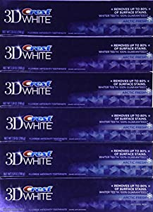 Crest 3d White Arctic Fresh Icy Cool Mint Flavor Whitening Toothpaste, 7 Oz (Pack of 24)