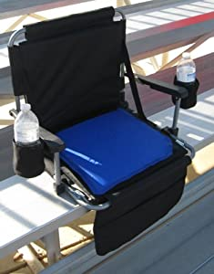 SEASON SPECIAL DELUXE Oasis ZERO TIPPING Stadium Seat W  ONE REMOVABLE SOFT STADIUM... by Oasis