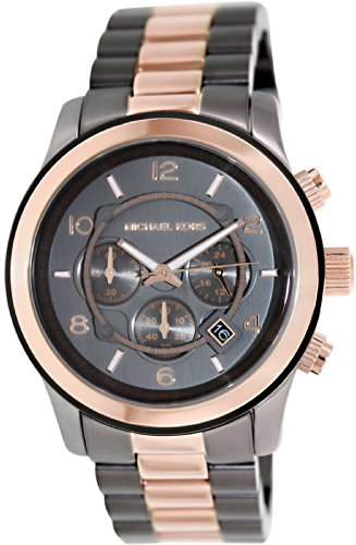 Michael Kors Watches Runway (Gunmetal and Rose Gold)