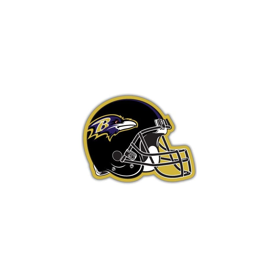 Baltimore Ravens NFL Football car bumper sticker 5x 4
