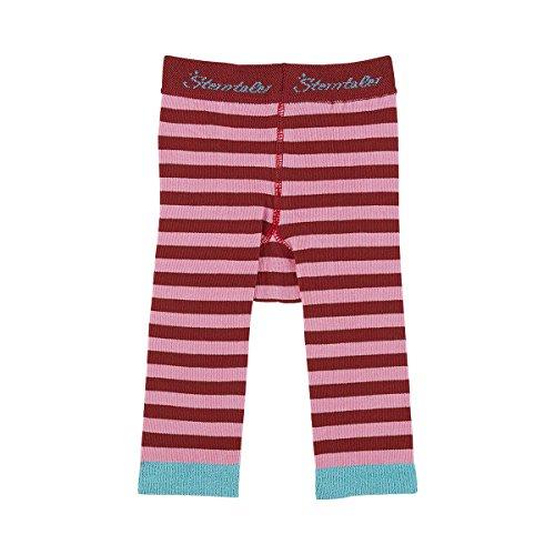 Sterntaler Unisex - Baby, Legging, 8761501 Leggins Ringel, GR. 92 (Herstellergröße: 92), Rot (884 Red)