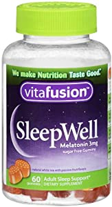 Vitafusion Sleep Well Gummy Sleep Support, 60 Count (Pack of 2)