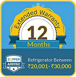 Zopper Assure 12 Months Extended Warranty for Refrigerator (Rs 20001 - 30000)
