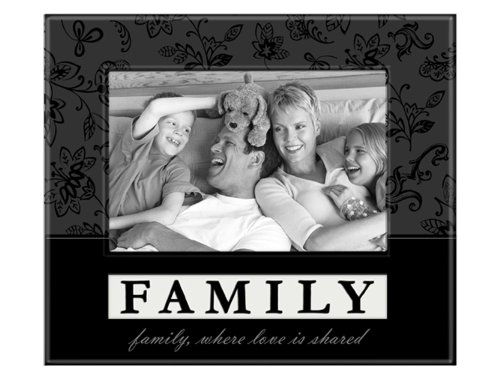 Malden 8250-46 4x6-Inch Picture Frame Family, Where Love is Shared