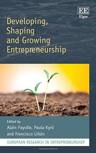 Developing, Shaping and Growing Entrepreneurship (European Research in Entrepreneurship Series)