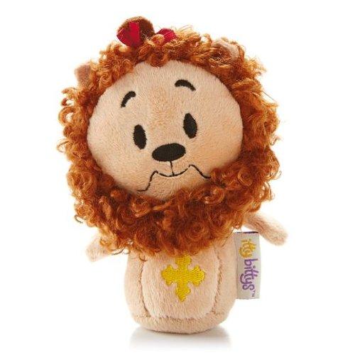 Hallmark Itty Bitty Plush Kid3255 Cowardly Lion Wizard Of Oz Plush front-1015661