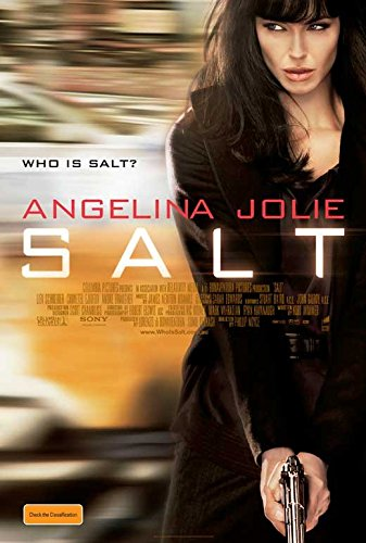 27 x 40 Salt Movie Poster (Salt Movie Poster compare prices)