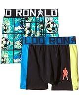 CR7 CRISTIANO RONALDO Boys-Close Fit Boxer Shorts / Trunks - 2 Pack