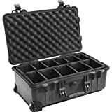 51nr1TlEZpL. SL160  Pelican 1510 004 110 Case with Padded Dividers, Black