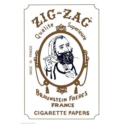(24x36) Zig Zag Cigarette Papers Advertisement Poster