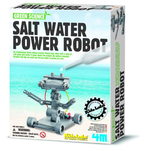 4M Salt Water Powered Robot Kit - 1