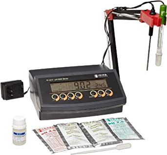 Hanna Instruments HI 2211 Benchtop pH/mV/Temperature Meter