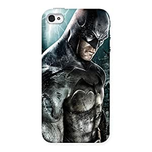 Special Green Knight Typo Back Case Cover for iPhone 4 4s