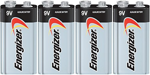 Energizer E522 Max 9V Alkaline battery Exp. 03/18 or later Made in USA - 4 Count (Fire Alarm Battery compare prices)