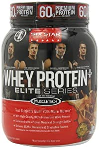 Six Star Pro Nutrition Whey Protein Plus Elite Series