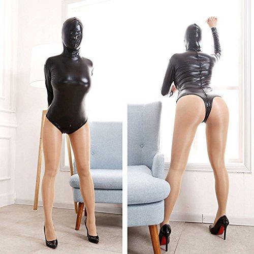 Love Secret Cosplay Slave BDSM Bondage Restraints Erotic Lingerie Hood Mask Costumes Straitjacket Blindfold Fetish Head Harness Jumpsuits (Women Straitjacket)