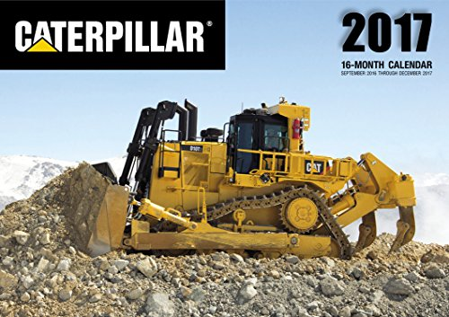 Caterpillar 2017: 16-Month Calendar September 2016 through December 2017 (Buildings Calendar compare prices)