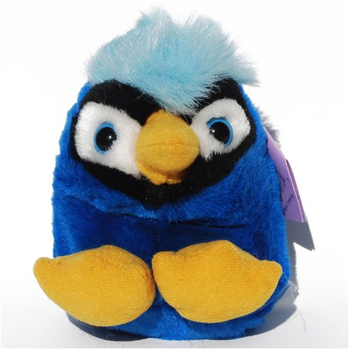 Jake the Blue Jay Bird - Puffkins Bean Bag Plush - 1