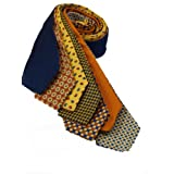 7Piece 100% Pure Silk Ties. Made in England. (215D)RRP£139.99