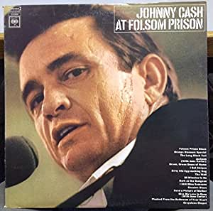 Johnny Cash at Folsom Prison 1968 CBS - CS 9639
