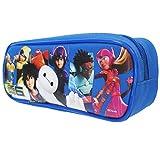 Disney Big Hero 6 Blue Pencil Case (1 PENCIL CASE)