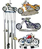 Wind Chime Round Top Motorcycle Hanging Garden Decoration Windchime