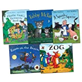 Julia Donaldson and Axel Scheffler Pack, 5 books, RRP £39.95 (A Squash and a Squeeze; Charlie Cook's Favourite Book; Room on the Broom; Tabby McTat; Zog).