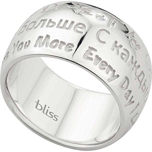 anello donna gioielli Bliss taogd+ misura 15 classico cod. 20042622