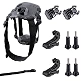 Neewer Pet Dog Chest Harness Kit Chest Strap Belt Mount Remote Control Wrist Strap for GoPro Hero4 Session Hero 4 3+ 3 2 1, Xiaomi Yi, SJ4000 5000 6000 7000