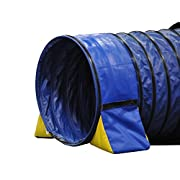 Cool Runners Tunnel Hugging Non Constricting Dog Agility Tunnel Bag Set