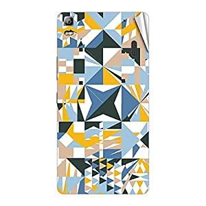 Garmor Designer Mobile Skin Sticker For Lenovo P780 - Mobile Sticker