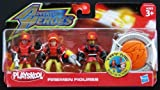 Playskool 'Adventure Heroes' Firemen Action Figures Set