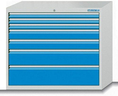 Schubladenschrank-Serie-1000-mit-7-Schubladen-verschiedene-BLH-Schubladenschrnke-Breite-1000