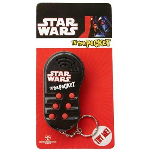 Star Wars In Your Pocket voice key chain - Styles may vary