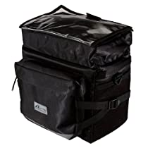 Nashbar Elite Handlebar Bag - BLACK/BLACK