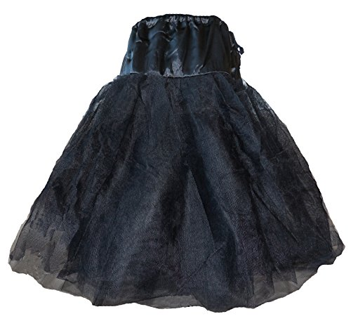 Petti-Perfection-3-Tier-Satin-High-Quality-Vintage-Style-Petticoat-Skirt