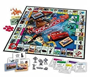 Monopoly Disney Pixar Edition Board Game