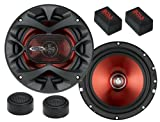 51nrNMKY9pL. SL160  Best Price on BOSS Audio CH6CK Chaos Exxtreme 350 watt 2 way auto 6.5 Component Speaker  Reviews