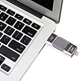 eMart-iPhone-USB-Flash-Drive-32GB-i-Flash-U-Plattenspeicher-Stock-Feder-Antrieb-fr-iPhone-iPad-Android-Handy-und-Computer-Silber