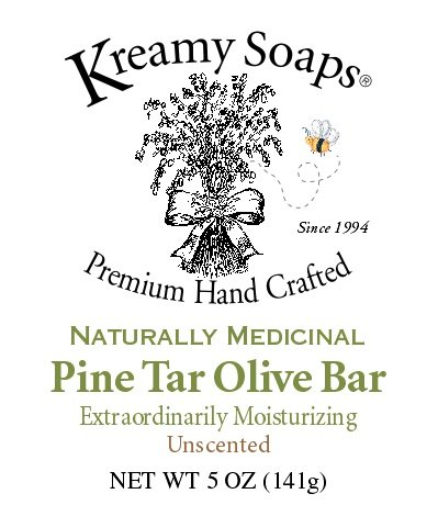 Naturally Medicinal Pine Tar Olive Bar