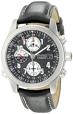 Bremont Men's Alt1-Z/BK Analog Display Swiss Automatic Black Watch